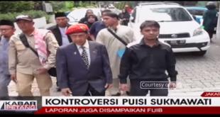 Video – Soal Puisi Ibu Indonesia, ACTA dan FUIB Laporkan Sukmawati ke Polisi